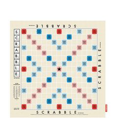 Scrabble tea towel -- i must have this!!
