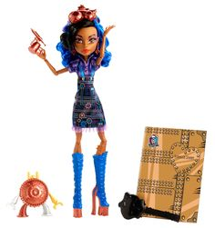 Amazon.com: Monster High Art Class Robecca Steam Doll: Toys & Games