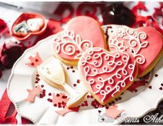 """love, sweet, romantic, red, props, chocolate / Valentine's Day """"King and Queen of my heart""""   Catch My Party"""