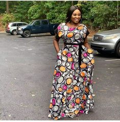Ankara gowns are beautiful and we've got more than enough ankara long gown styles you'll love in this post. Ankara Long Gown Styles, Ankara Gowns, Maxi Gowns, Ankara Styles, Dress Styles, Long Gown Images, Dress Images, Turtle Neck Gown, Long Gown Design