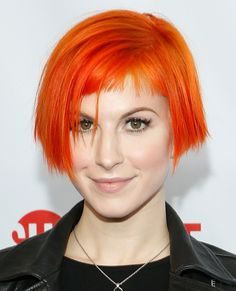 Trend to Try: Wild Hair Colors - Hayley Williams from #InStyle