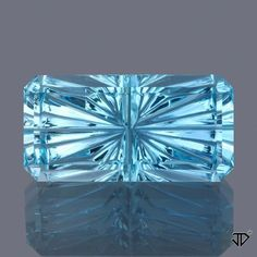 Browse through our selection of custom cut Aquamarine gemstones below. Click the photo of a colored gemstone you are interested in to view more information about that stone.