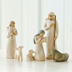 Nativity Set Scenes from Willow Tree. Shop our four distinctive hand-sculpted Nativity Sets on the official site for Willow Tree by Susan Lordi.