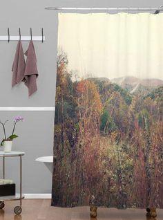 Catherine McDonald Autumn In Appalachia Shower Curtain
