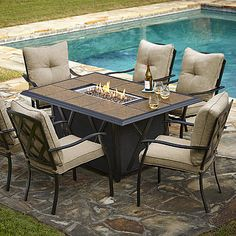Outdoor Dining Table With Fire Pit In The Middle Fancy Pendant - Outdoor dining table with fire pit in the middle
