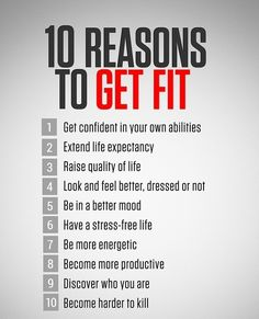 The main reason is for yourself! #exercise #inspiration Come get fit with us at www.foreverfit4life.com