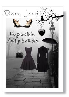 """""""Back to black"""" by noeltex-targaryen-stark ❤ liked on Polyvore featuring Dorothy Perkins, Givenchy, Target and Lord & Taylor"""