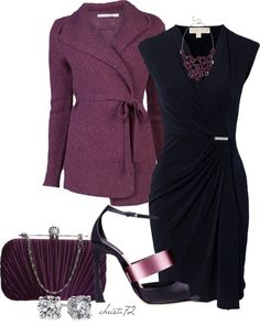 """""""Style the Cardigan""""...different shoes for during the day then heels and no cardigan at night...."""