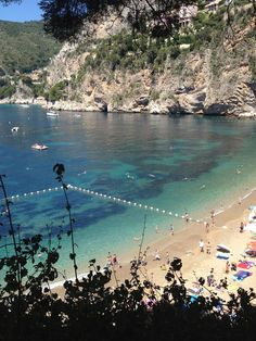 Plage Mala, Cap d'Ail, France I went here first at age of 2 and again every year till I was about 8 - gorgeous place would love to go back Cap D'ail, Evil Under The Sun, Honeymoon Style, Antibes, France, Travel Memories, French Riviera, Beach Bum, Holiday Destinations