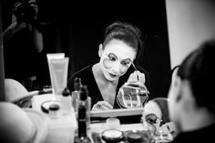 Cirque du Soleil - Alegria: Make-up session with Elodie Dufau (Petit Tamir and Power Track artist)