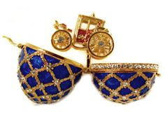 FABERGE STYLE LARGE  EGGS Faberge Style IMPERIAL EGG