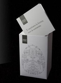 Stylish White Package Design Inspiration