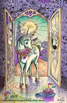 Unicorn+Journey by+BluebirdieBootique