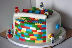 Lego cake for my husband's birthday (yes, husband ;-))