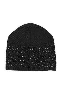 BOSS - Mütze ´HA377` mit Strassbesatz