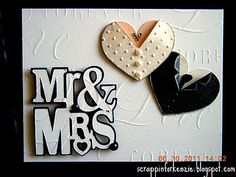 wedding card....crafty! i'm so doing this for the next couple getting married...