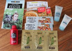 Freebies in My Mailbox: Dove, Suave, Old Spice, plus more!