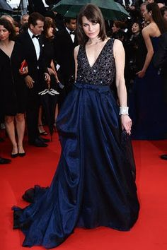 Milla Jovovich wearing Armani attends 66th Annual Cannes Film Festival at Grand Theatre Lumiere