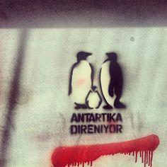 Taksim Gezi Park Protest #occupyturkey #streetart
