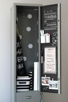 Keep your locker chic and organized with easy decorating ideas you can do on a dime.