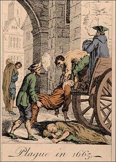 Epidemic ... in Britain in 1665