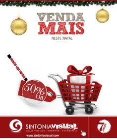 Venda mais neste Natal!  Criação de Loja Virtual Corporativa ou Pessoal com 50% de desconto!!!! Aproveite!  Acesse: www.sintoniavisual.com  #criacaolojavirtual #lojavirtualdesconto #ecommerce #loja #lojavirtual #vendaonline