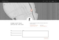 Beautiful contact us pages. Contact | Cobble Hill – A Creative Agency and Design Studio in Charleston, SC