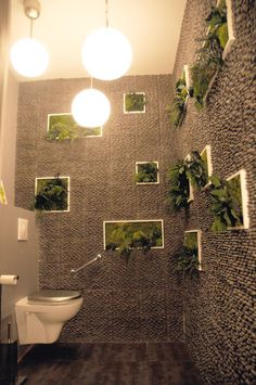 11 Idées deco wc super cool | Toilet, Spaces and Interiors