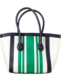 Womens Striped Canvas Totes - $16 only!!