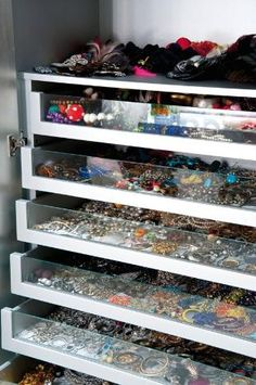 My jewelry would actually be organized for once