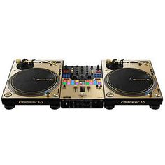 Buy Pioneer Pro PLX-1000-N Turntables DJM-S9-N Serato DJ Mixer Limited Edition Gold