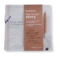 Sketchbook Serviette Story von Donkey Products auf LadenZeile.de ➜ Jetzt entdecken: www.ladenzeile.de/detail/570098645