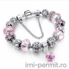 New European Pandora Tibetan Silver Crystal Charm Beads Bracelet Women Jewerly Crystals And Gemstones, Crystal Beads, Diy Crystals, Glass Beads, Crystal Jewelry, Pendant Jewelry, Ruby Crystal, Glass Crystal, Healing Crystals