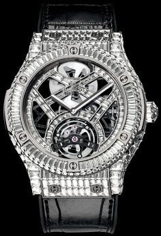 Hublot diseña un reloj de US$ 1 millón