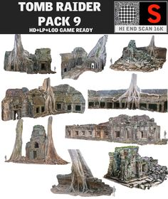 ancient temple pack 9 max