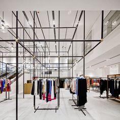 Retail Design | Store Interiors | Shop Design | Visual Merchandising | Retail Store Interior Design | LANE CRAWFORD LAB  Hong Kong