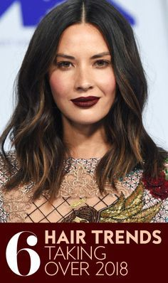 Six ways to switch up your look for the new year. #hairtrends #hairinspiration #hairtrends2018