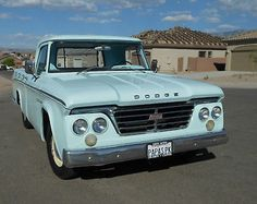 This is the very truck I bought ans started with for the project you see here on my board. Dodge : Other Pickups Shortbed 1964 Dodge D100 Short Wide; 1 Owner; California truck, Original condition - http://www.legendaryfind.com/carsforsale/dodge-other-pickups-shortbed-1965-dodge-d100-short-wide-1-owner-california-truck-original-condition/
