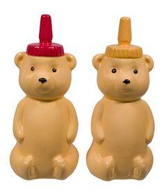 Another great find on #zulily! Honey Bears Salt & Pepper Shakers #zulilyfinds