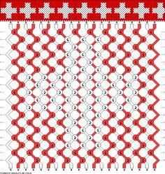 #54606 - friendship-bracelets.net. Switzerland's flag