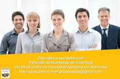 O Grupo Codep – Grupo de Estudos de Coaching & Desenvolvimento Pessoal de Sorocaba em parceria com a Faculdade Ipanema, convida para o Workshop de Coaching …