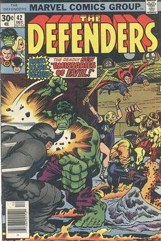 Defenders # 42 by Jack Kirby & Klaus Janson