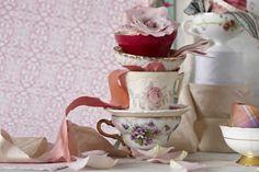 shabby tea cup