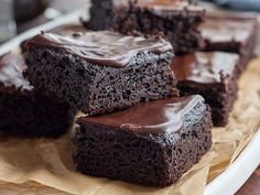 Fudgy Keto Brownies from the KetoDiet Cookbook - moist, rich & decadent low-carb treat!