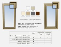 1000 images about customize on pinterest locks vinyl for Vinyl clad windows