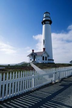 Pigeon Point Lighthouse offers overnight lodging to the public.   Let of light house inns in CA
