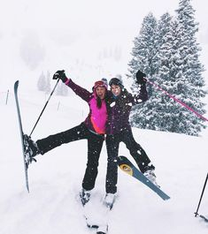 (notitle) - Mountains are calling - - Fotoideen - Ski Snow Pictures, Cute Pictures, Best Friend Goals, Best Friends, Camping And Hiking, Ski Bunnies, Ski And Snowboard, Snowboarding, Ski Season