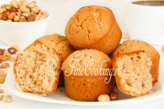 Кексы с арахисовой пастой - рецепт с фото