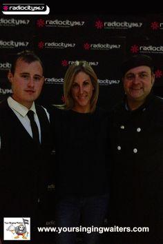 Singing Waiters With Radio City 96.7