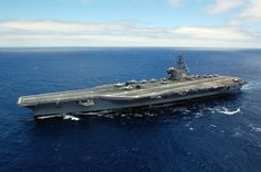 The Nimitz-class aircraft carrier USS Ronald Reagan (CVN 76) in the Pacific ocean. Ronald Reagan Presidential Library  Were you or a friend a crewmember of USS Ronald Reagan (CVN 76)? Let us know and share your comments/pictures below.